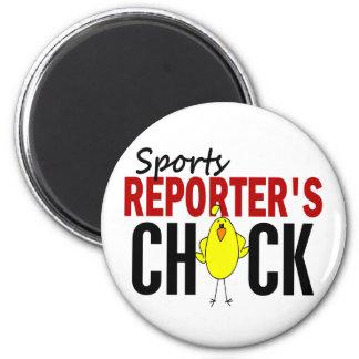 Sports Reporter s Chick Fridge Magnets