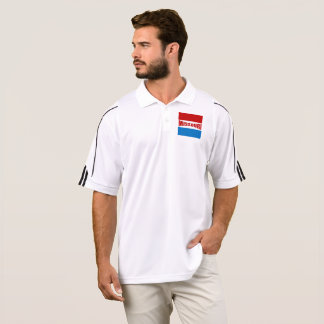 SPORTS SHIRT ADIDAS GOLF MISSOURI DESIGN