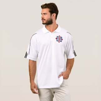 SPORTS SHIRT   ADIDAS GOLF THE USA