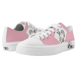 sports shoes  with cute horses