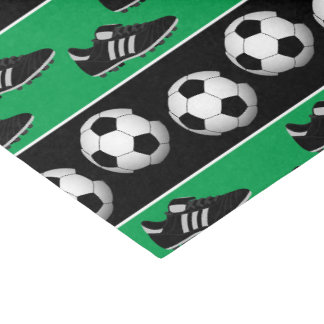 Sports soccer ball shoes party tissue paper