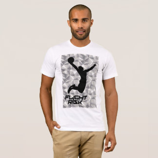 Sports T Basketball Flight Risk Mosaic T-Shirt