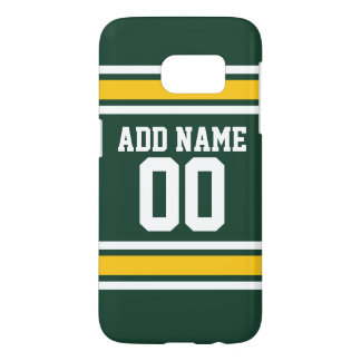 Sports Team Football Jersey Custom Name Number Samsung Galaxy S7 Case