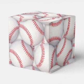 Sports Theme Baseball Birthday Favor Boxes
