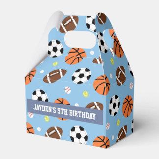Sports Themed Boys Birthday Party Supplies Favor Box