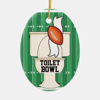 Sports - Toilet BOWL Ceramic Ornament