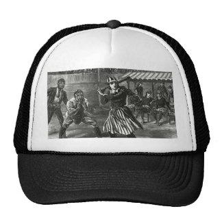 Sports vintages, les équipes de baseball casquettes