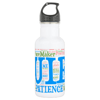 Sports Water Bottle,Wordart_Cloud_Serenity_2.png 532 Ml Water Bottle