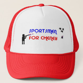Sportsman for Cheney Trucker Hat