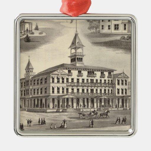 Sportsman's Hall & Cottages Ornament