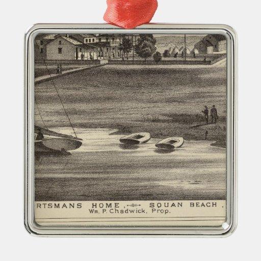 Sportsmans Home, Squan Beach, NJ Ornament