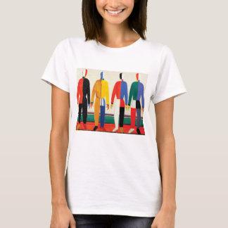 Sportsmen by Kazimir Malevich T-Shirt