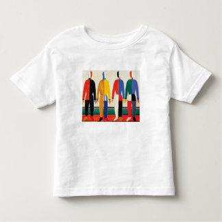 Sportsmen by Kazimir Malevich Toddler T-shirt