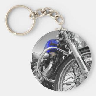 Sportster Blues Basic Round Button Keychain