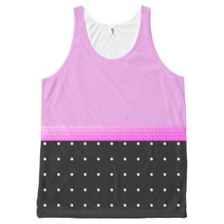 Sporty-Gurl-Dots_Pink-Ribbon(c)Tank-Top