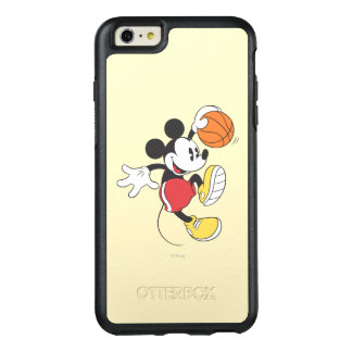 Sporty Mickey   Basketball Player OtterBox iPhone 6/6s Plus Case