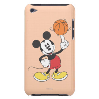 Sporty Mickey | Spinning Basketball Barely There iPod Covers