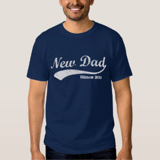 Sporty New Dad T-Shirt, Custom Year Tshirt
