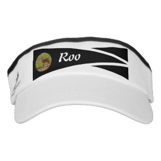 Sporty photo visor with name