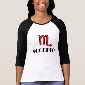 SPORTY RED SCORPIO T-Shirt