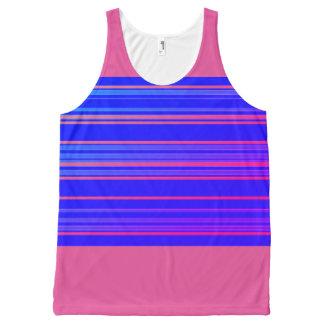 Sporty-Stripes-Blue-Peach(c)-Tank-Top
