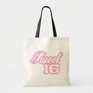 Sporty Sweet Sixteen Canvas Bags