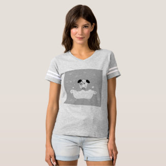 Sporty t-shirt with Cute dog