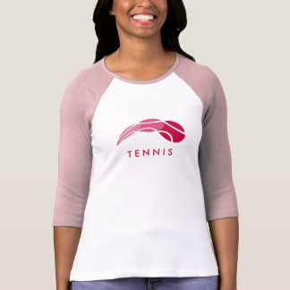 Sporty tennis t-shirt for women and girls