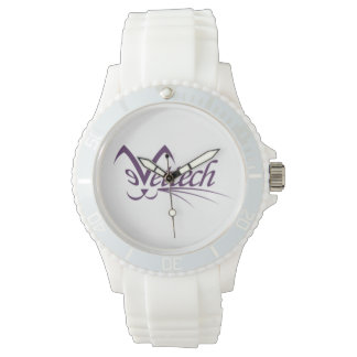Sporty Vettech watch white