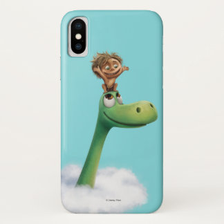 Spot And Arlo Head In Clouds iPhone X Case