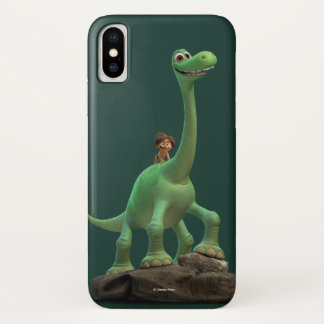 Spot And Arlo On Rock iPhone X Case