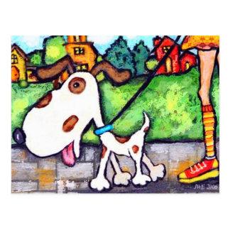Spot The Dog's Walk Postcard