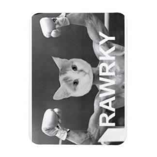 "Spot the Kitty Presents ""Rawrky"" fridge magnet"