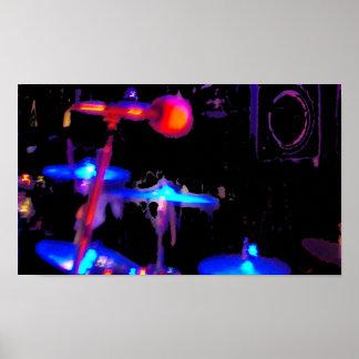 spotlight drums poster