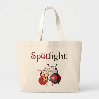 Spotlight Ladybug Tote Bag