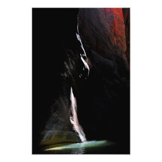 Spotlight on the Water Photo Print