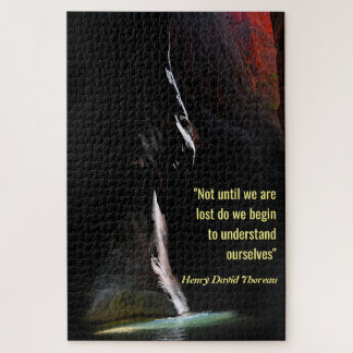 Spotlight on the Water with Quote Jigsaw Puzzle