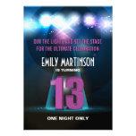 Spotlight Star Purple 13th Birthday Party