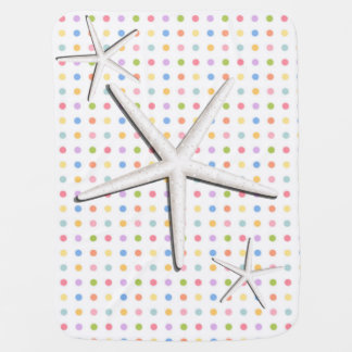 spots pie, star of ma 3D, Mantita drinks Stroller Blanket