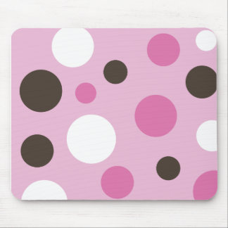 Spots Pink Mousepad