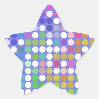 Spots Star Sticker