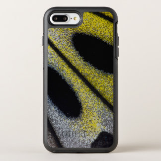 Spotted and yellow butterfly wing OtterBox symmetry iPhone 8 plus/7 plus case