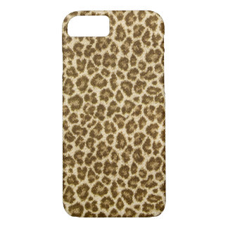 Spotted Animal Fabric-look Pattern Case-Mate iPhone Case