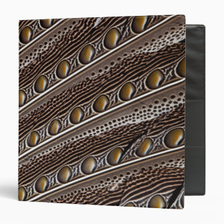 Spotted Argus pheasant feather Binder
