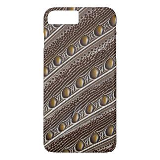 Spotted Argus pheasant feather iPhone 8 Plus/7 Plus Case
