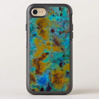 Spotted Blue Chrysocolla Jasper OtterBox Symmetry iPhone 7 Case
