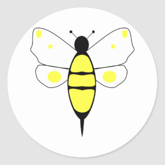 Spotted Bumble Bee Sticker