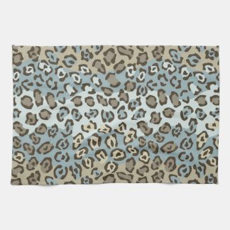 Spotted Cat Pattern Kitchen Towel