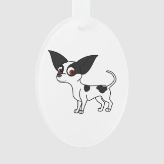 Spotted Chihuahua Ornament