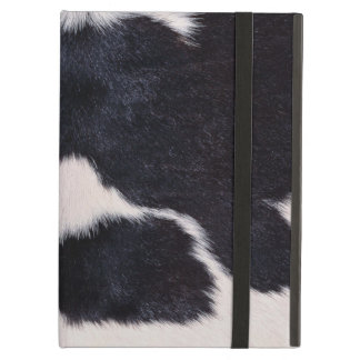 SPOTTED COW HIDE iPad AIR COVERS